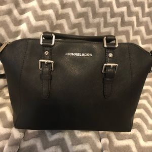 Michael Kors Ciara Large Saffiano Leather